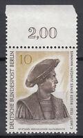 Berlin 1967 Mi. Nr. 303 Postfrisch mit Oberrand (24033)