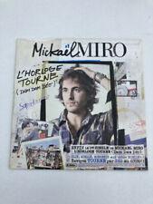 CD SINGLE MICKAEL MIRO L'HORLOGE TOURNE - DAM DAM DEO - tres bon etat