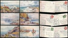 Raphael Tuck & Sons Posted Collectable British Postcard Sets