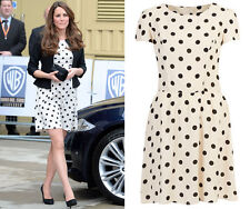 Topshop Petite Polka Dot Dress ASO As Seen On Duchess 6 34 2