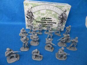 Armies in Plastic #5577 U.S. Army #2 Afghanistan (54MM) 18 figures in 6 Poses