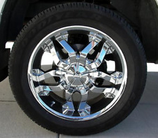 "20x9"" TSW Chrome Aluminum Wheels ""THUG"" *Set of 4*, 6-135 Bargain!"