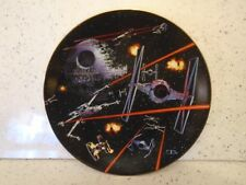 More details for star wars  hamilton collection space battle death star tiefighter plate