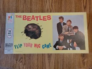 The Beatles 'Flip Your Wig Game' 1964 MiltonBradley in complete ex condition USA