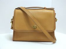 EUC Vintage Coach Court Bag Crossbody/Shldr Buckskin Leather Made in USA