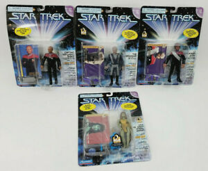 1995 Playmates STAR TREK DEEP SPACE NINE ACTION FIGURE LOT 4 W/ FREE SHIPPING