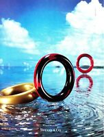 1990 Lacquer Bracelets by Elsa Peretti on Water photo Tiffany & Co. print ad