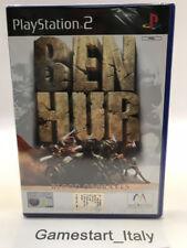 BEN HUR - PS2 - VIDEOGIOCO NUOVO SIGILLATO NEW SEALED PAL VERSION