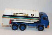Conrad LKW 1:50*Gussmodell*Mercedes Tankwagen*Messer Griesheim*Werbemodell*TOP*