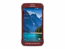 Samsung Galaxy S5 Active G870A 16GB 4G LTE Ruby Red No Burn GSM Unlocked Used