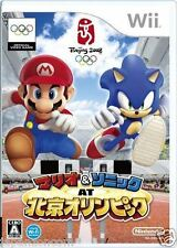 Used Wii Mario Sonic at the Olympic Nintendo JAPAN  JAPANESE JAPONAIS IMPORT