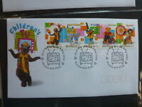 AUSTRALIA 1999 CHILDRENS TV STRIP 5 STAMPS FDC FIRST DAY COVER