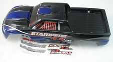 NEW BLUE TRAXXAS STAMPEDE 4X4 PAINTED BODY