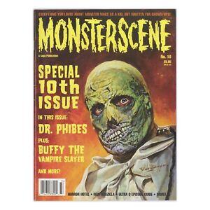MONSTERSCENE Issue #10 Summer 1997 Basil Gogos Dr. Phibes Buffy Vampire Slayer