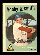 1959 Topps #162 BOBBY G. SMITH EX *y6
