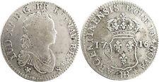 LOUIS XV 40 BÖDEN VON STRAßBURG 1716 BB , SELTEN