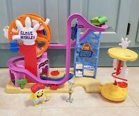 Fisher Price Imaginext Spongebob Squarepants Glove World Playset w/ 2 Figures