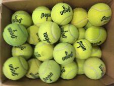 100 used tennis balls - Wilson and Penn