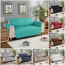 1/2/3 Seater Cushion Couch Quilted Sofa Furniture Covers for Home Living Room