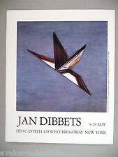 Jan Dibbets Art Gallery Exhibit PRINT AD - 1990 ~~ Barcelona Window