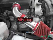 Red For 2007-2009 Hummer H3 3.7L L5 Cold Air Intake System Kit + Filter
