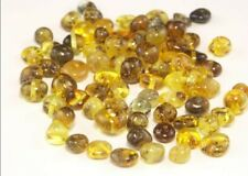 Baltic Amber Beads Natural Loose BQ 5-6mm Beads 50 Pcs Green