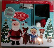 Rudolph The Red Nosed Reindeer Crochet Kit Learn To Create 12 Character Open Box