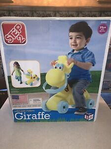 Rare New Old Stock Step 2 Wild Side Riders Ride On Giraffe FREE SHIPPING