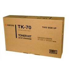 TK70-Genuine Kyocera Mita TK-70 Black Toner Work Kit, 370AC018, OEM