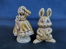 Wade Sharpes Chocolate Easter Bunny and Bo Peep 1970-71 (Perfect)