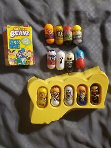 Mighty Beanz Series 1 Lot of 13 Beans, NO DUPLICATES - RARE! Cave Man Bean!!