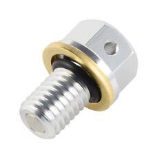 CNC Billet Oil Drain Plug & Washer For Kawasaki KX125 KX250 96-08, KX250F 04-18