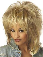 Rockin Soul Tina Turner 80s Rock Star Women Costume Wig