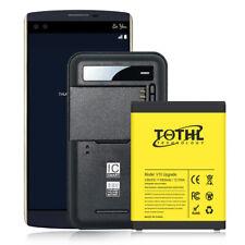 3300mAh Extended Slim battery+Home Charger for T-Mobile Lg V10 Bl-45B1F