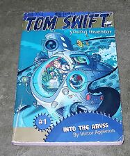 INTO THE ABYSS Tom Swift, Young Inventor #1  2006 Lg Trade PB ~ 1st Ed 2nd Print