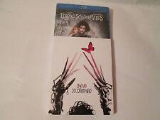 Edward Scissorhands (Blu-ray Disc/With Digital ) Rare Slipcase Brand New