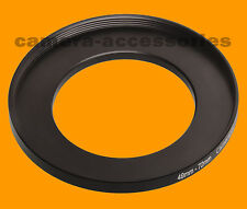 49mm to 72mm 49-72mm  Stepping Step Up Filter Ring Adapter 49mm-72mm 49-72 (UK)