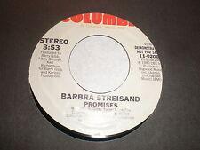 Barbra Streisand 45 Promises COLUMBIA PROMO