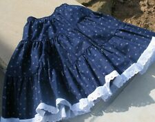 Six yrs/old Girl's Provencale Skirt Made in Provence - France by L'Ensoleillade