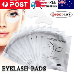 300pairs Eye pads Eyelash Pad Gel Patch Lint Free Lashes Extension Mask Eyepads