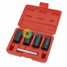 Locking Wheel Nut Bolt Remover, Grip n Twist Sockets, 17,19,21,22mm NEW