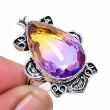 Ametrine Gemstone 925 Sterling Silver Jewelry Ring s.8 LR-5978