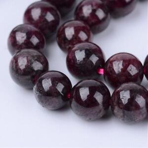 Strand 96+ 4mm Natural Garnet Top Grade Plain Round Beads UK