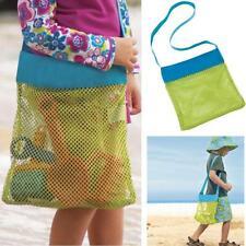 Mesh bags Storage for Kids toys Outdoor Travel Messenger Bag Beach Sandway HOT!