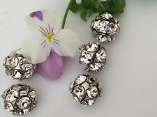 Swarovski Rhinestone 1028 Bead Ball 12mm Spacer Drilled 19ss CRAFT Post Free