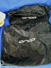 Orca Equip & Sonar Sleeveless Black Mesh Storage Bags Only Empty Carrying Case