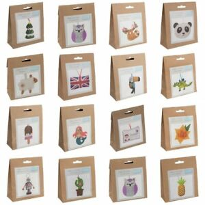 Trimits Make Your Own Felt Beginners Kit  - Includes Threads, Needle & Stuffing