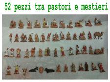 52 pastori e mestieri landi pastore 3,5 cm presepe 52 shepherds crib moranduzzo