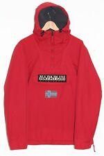 Men's NAPAPIJRI GEOGRAPHIC Rainforest Overhead Slim Jacket, Hiver Jacket: Medium