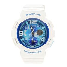 Casio White Ladies Analog-Digital Casual Baby-G BGA-190GL-7B